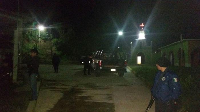 Cinco tiros recibió el maestro asesinado en Eloxochitlán