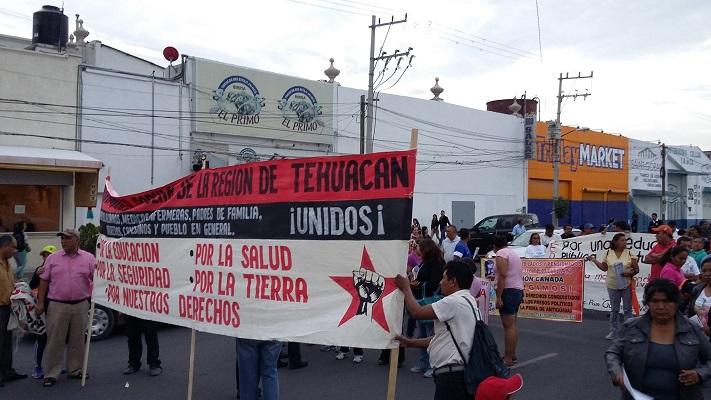 La intimidacion no nos detrendra en la lucha: Asamblea Popular Regional