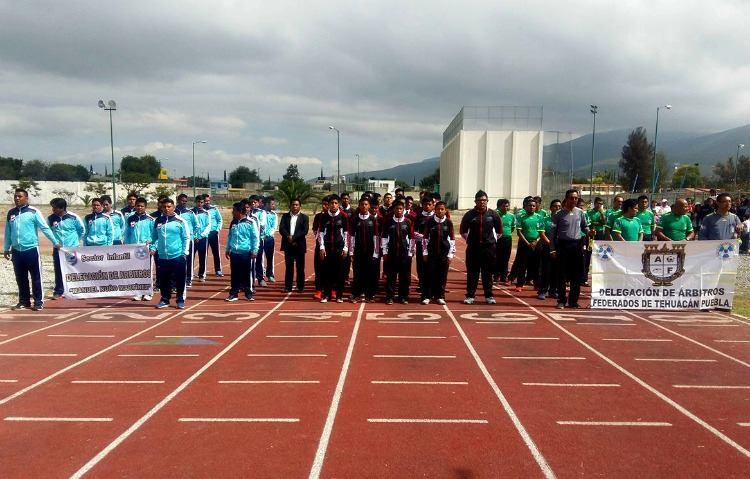 Lucida ceremonia de inauguración de la Liga de Fútbol Tehuacán A.C.