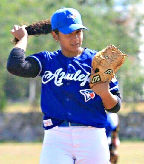 Primera mujer en el béisbol profesional de Mexico